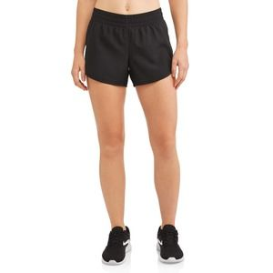 Lucy Active Black Lined Running Workout Shorts
